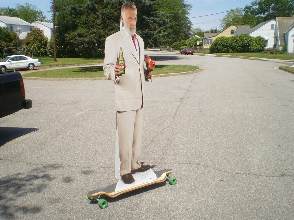 I Dont Always Skate A Longboard